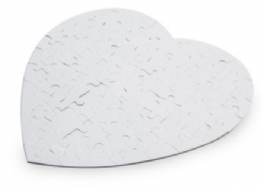 PERSONALISED HEART SHAPE JIGSAW PUZZLE