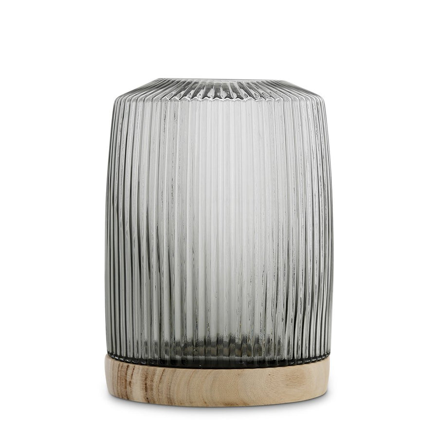 Pleat Vase - Storm Grey (XL)