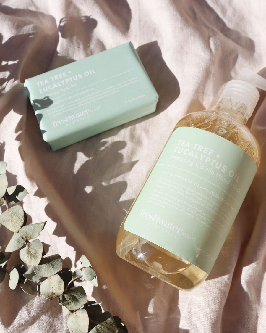 Castile Hand Wash - Tea Tree + Eucalyptus Oil