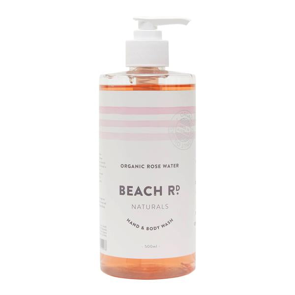 Hand & Body Wash - Organic Rose Water