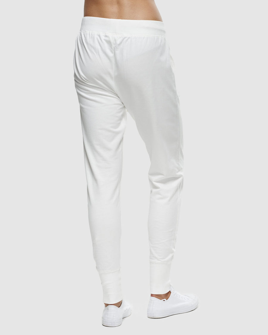 Classic Terry Trackpant - Gardenia Organic Cotton