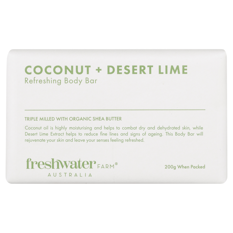Soap - Refreshing Coconut & Desert Lime