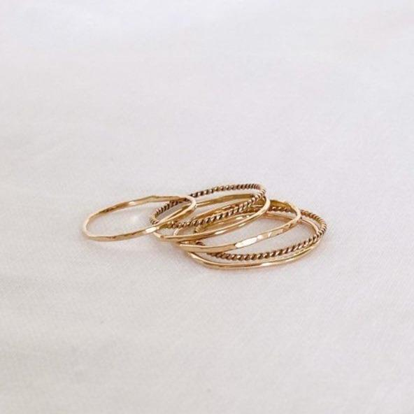 Kali Rings - Gold Filled