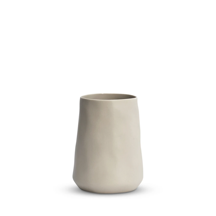 Cloud Tulip Vase - Chalk Medium