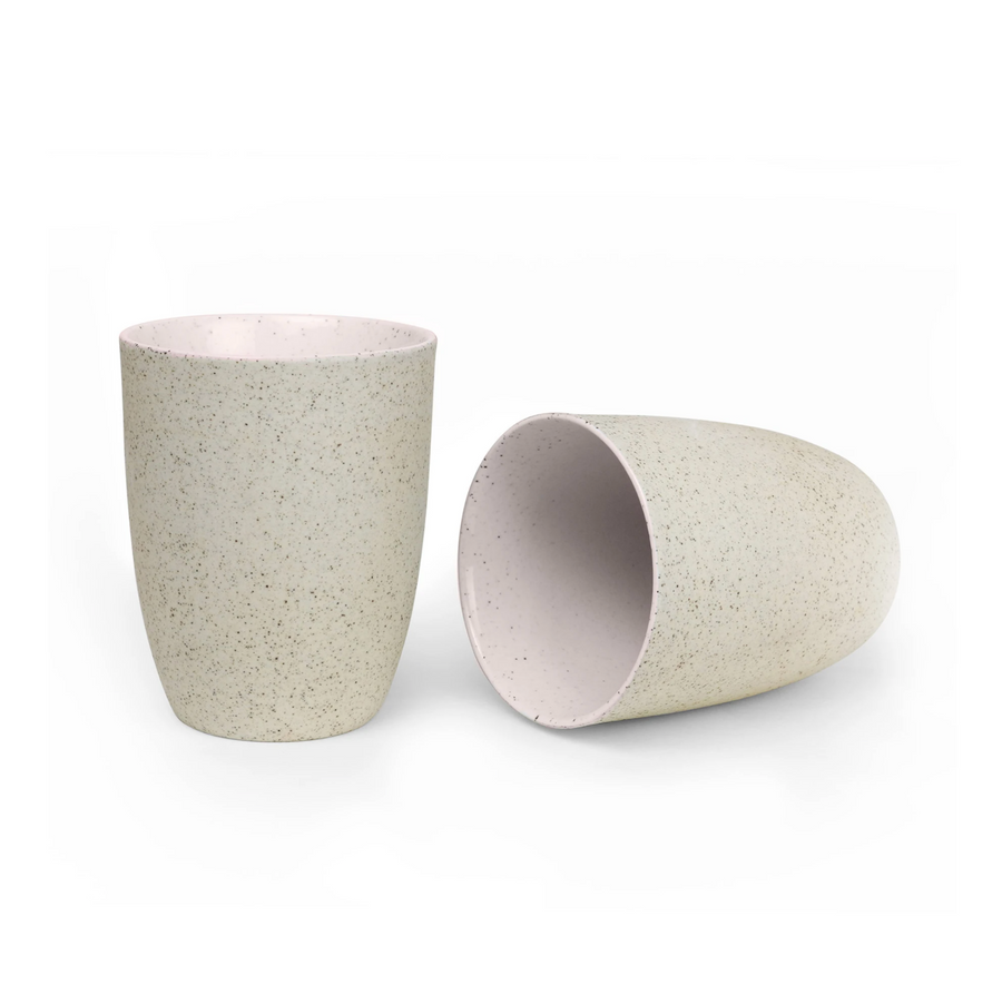 Late Cups - Pink Granite Twin Pack