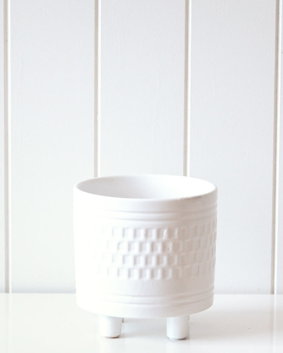 Pot/Planter - Blanc Small