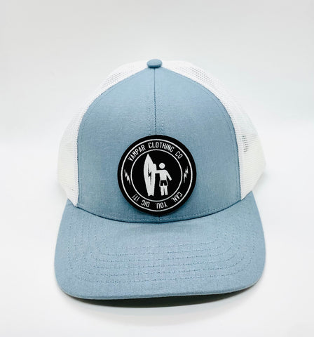 Can. You. Dig it! Ocean Blue Trucker Website Exclusive.