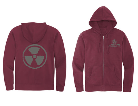Nuke'd Zip Up Hoodies