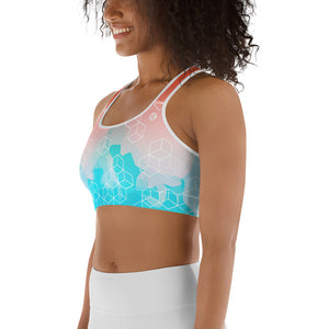 Watercolor Sports bra