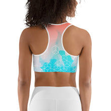 Load image into Gallery viewer, Watercolor Sports bra