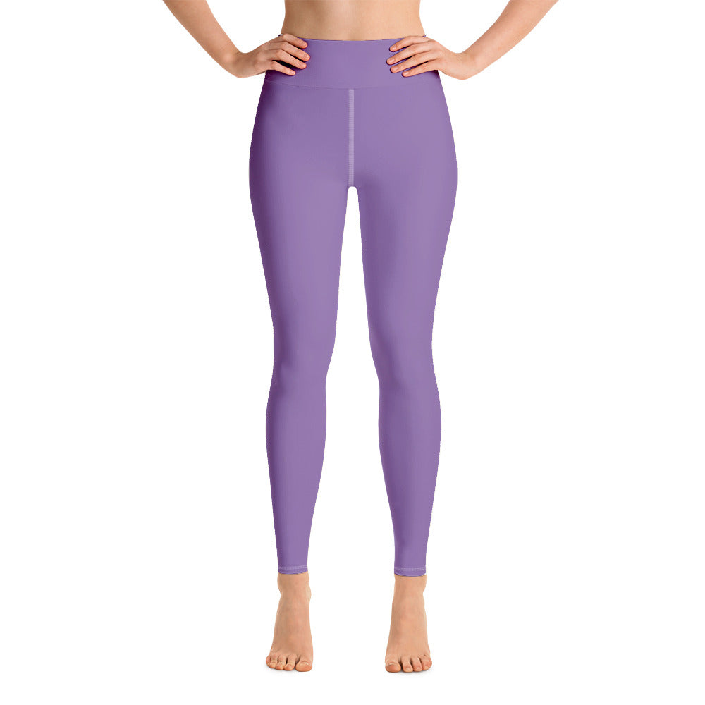 High Waist Purple FW Leggings
