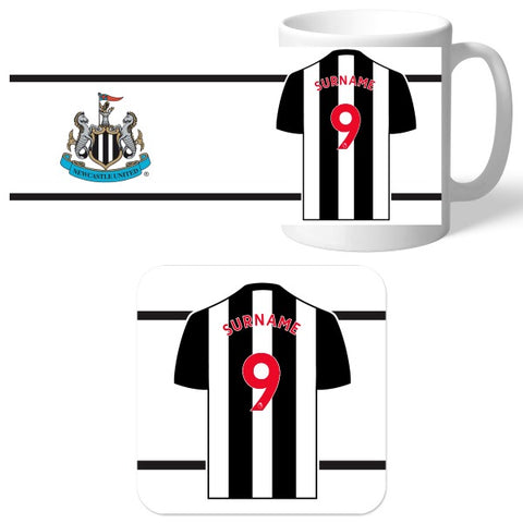 Newcastle United FC Shirt Mug & Coaster Set