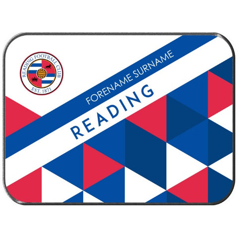Reading FC Patterned Rear Car Mat