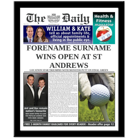The Daily Golf News