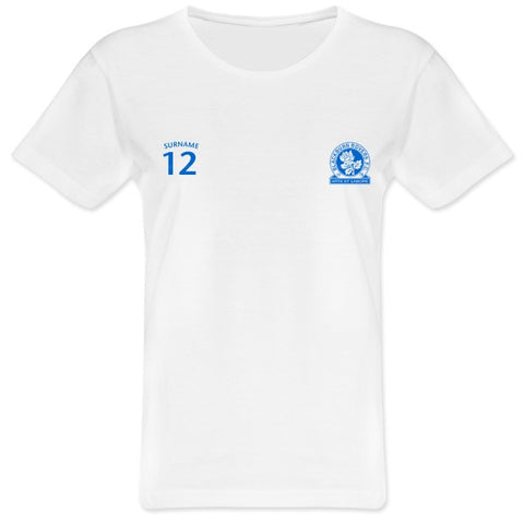 Blackburn Rovers FC Ladies Sports T-Shirt
