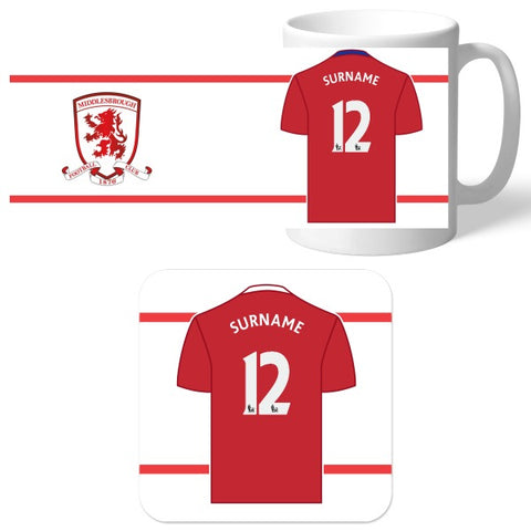 Middlesbrough FC Shirt Mug & Coaster Set