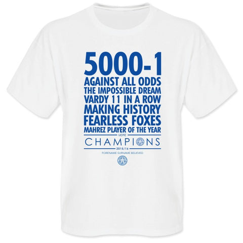 Leicester City FC Believe T-Shirt