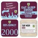 Burnley FC Coasters