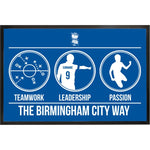 Birmingham City FC Way Door Mat