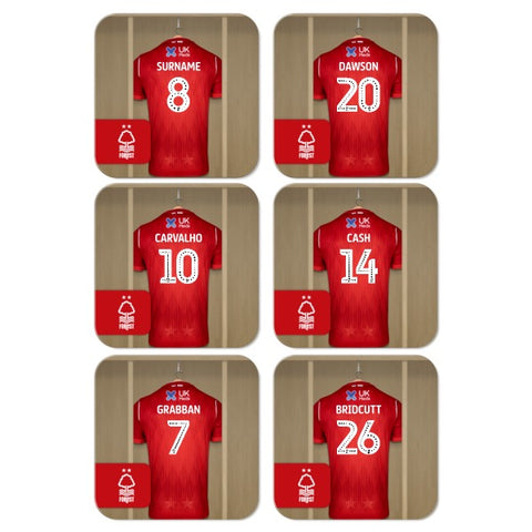 Nottingham Forest FC Dressing Room Coasters