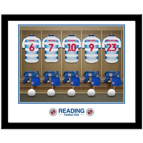 Reading FC Dressing Room Framed Print