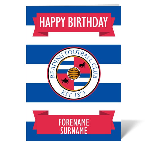 Reading FC Crest Birthday Card