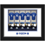 Everton FC Dressing Room Photo Folder