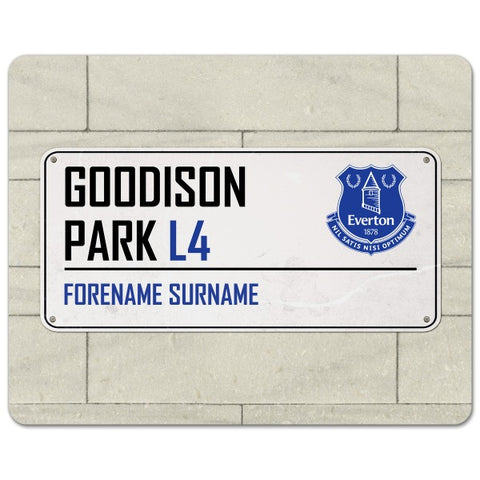 Everton FC Street Sign Mouse Mat