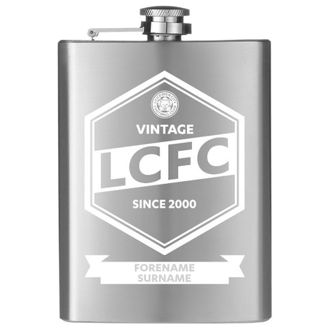 Leicester City FC Vintage Hip Flask