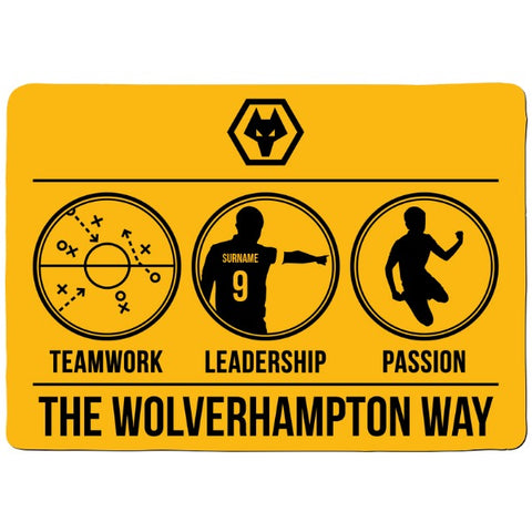 Wolves Way Floor Mat