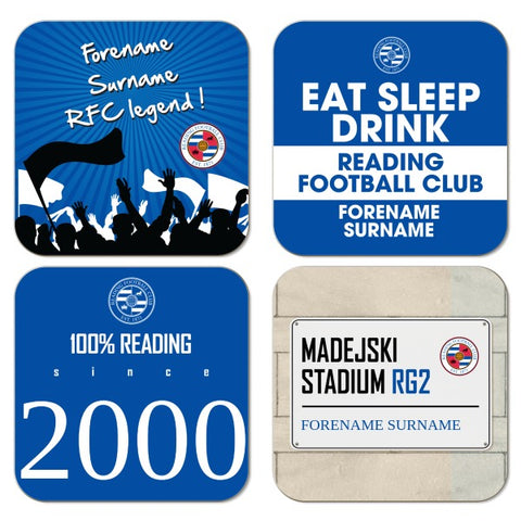 Reading FC Coasters