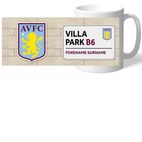 Aston Villa FC Street Sign Mug