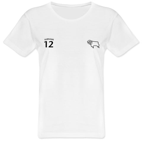 Derby County Ladies Sports T-Shirt