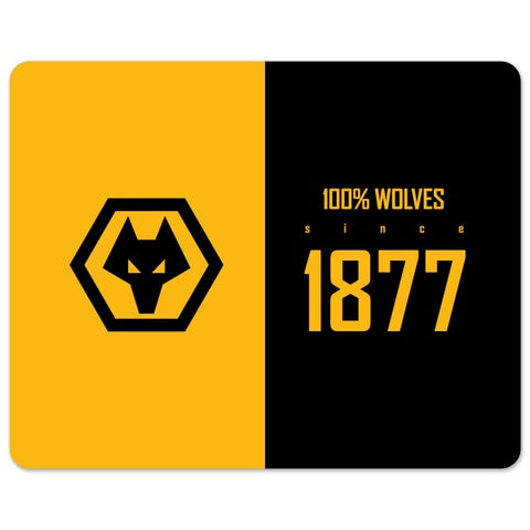 Wolves 100 Percent Mouse Mat