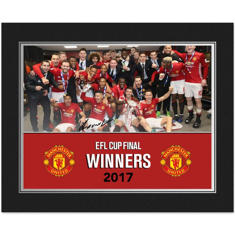 Manchester United FC EFL Cup Winners 2017 Photo Folder