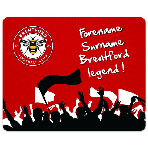 Brentford FC Legend Mouse Mat