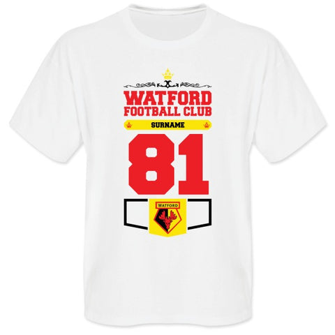 Watford FC Mens Club T-Shirt