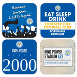 Leicester City FC Coasters
