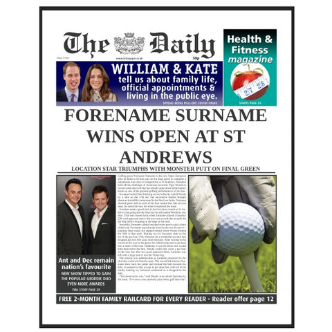 The Daily Golf News Folder - Male