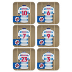 Reading FC Dressing Room Coasters