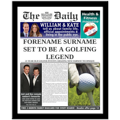 The Daily Golf Legend News