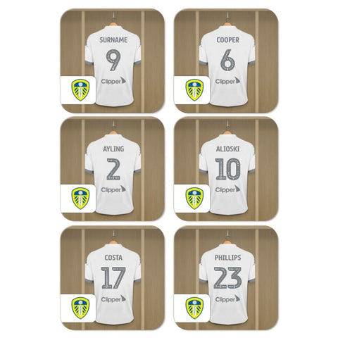 Leeds United FC Dressing Room Coasters