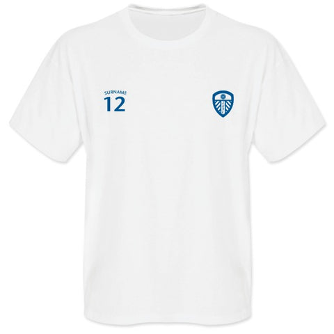 Leeds United FC Mens Sports T-Shirt