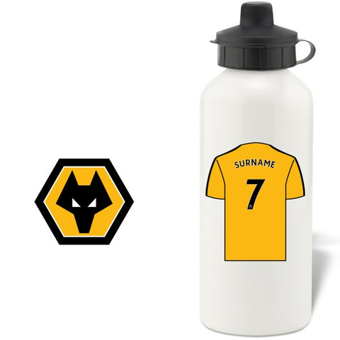 Wolves Aluminium Water Bottle