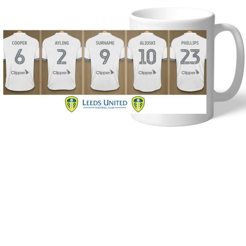 Leeds United FC Dressing Room Mug