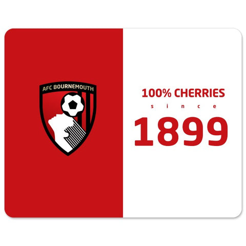 AFC Bournemouth 100 Percent Mouse Mat