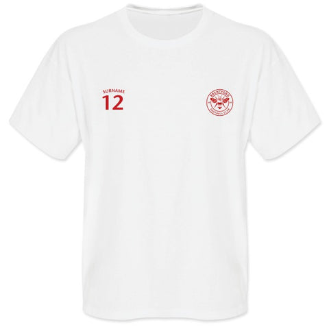 Brentford FC Mens Sports T-Shirt