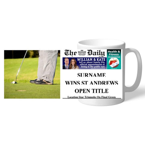 The Daily Golf Mug