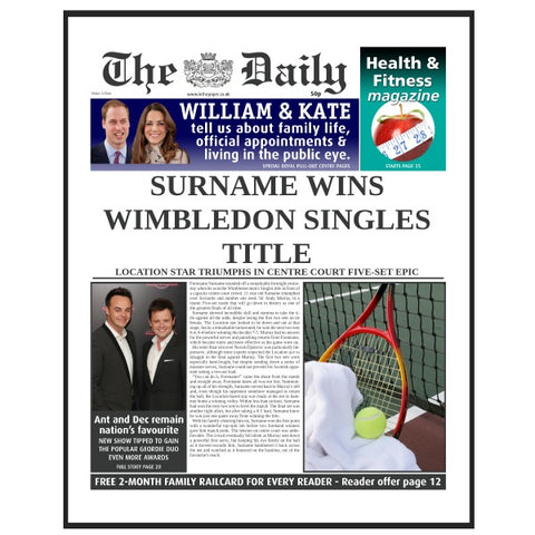 The Daily Tennis News Folder - Male
