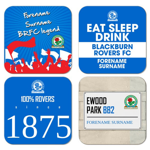 Blackburn Rovers FC Coasters